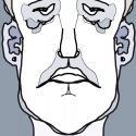 """Sad Man""  Digital Print   1/10"