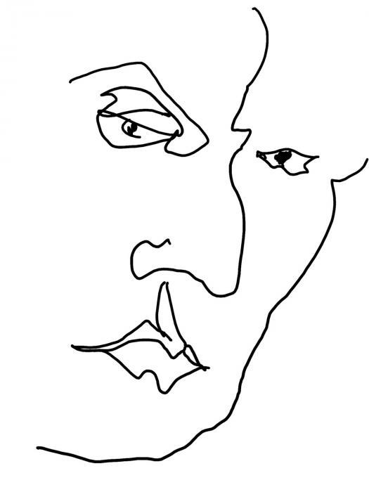"""""""Phil""""   Digital Print  1/10"""