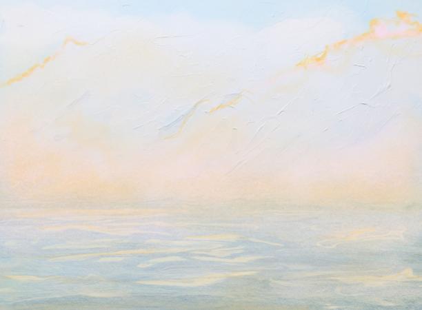 """""""Soft Sea""""  Digital painting"""
